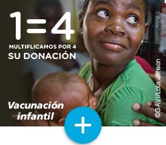 Infantile vaccination