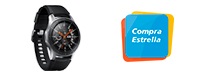 Samsung Galaxy Watch 46 mm Silver. Logo Compra Estrella