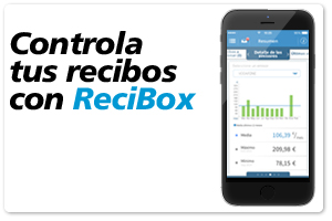 Controla tus recibos con ReciBox