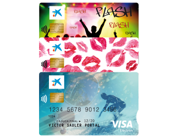 Tarjetas Visa Flash Tarjetas Caixabank