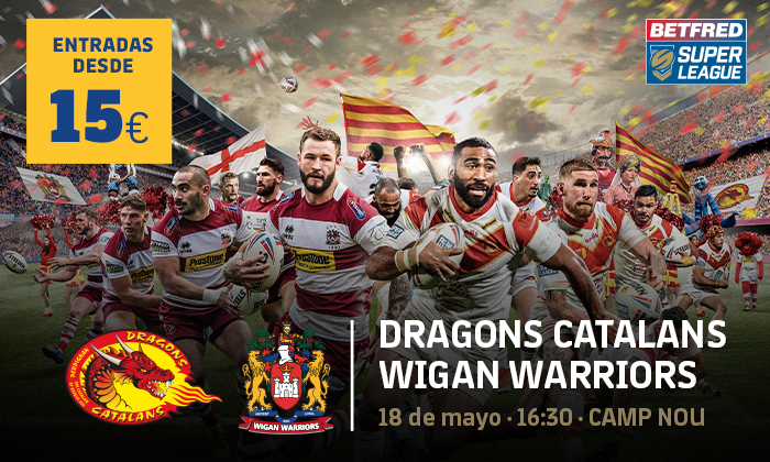 Dragons Catalans Wigan Warriors