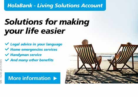 HolaBank. solutions for making your life easier