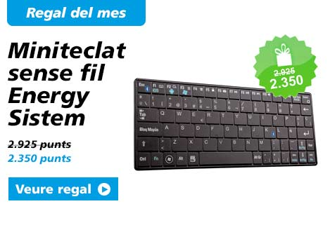 Regal del mes. Bossa d