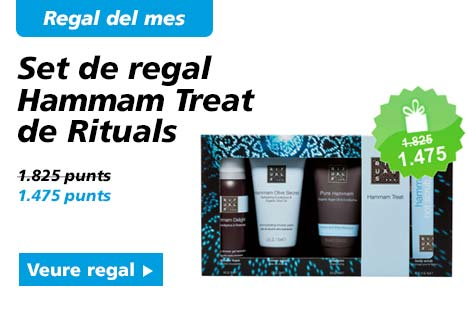 Regal del mes. Set de regal Hmmam Treat de Rituals
