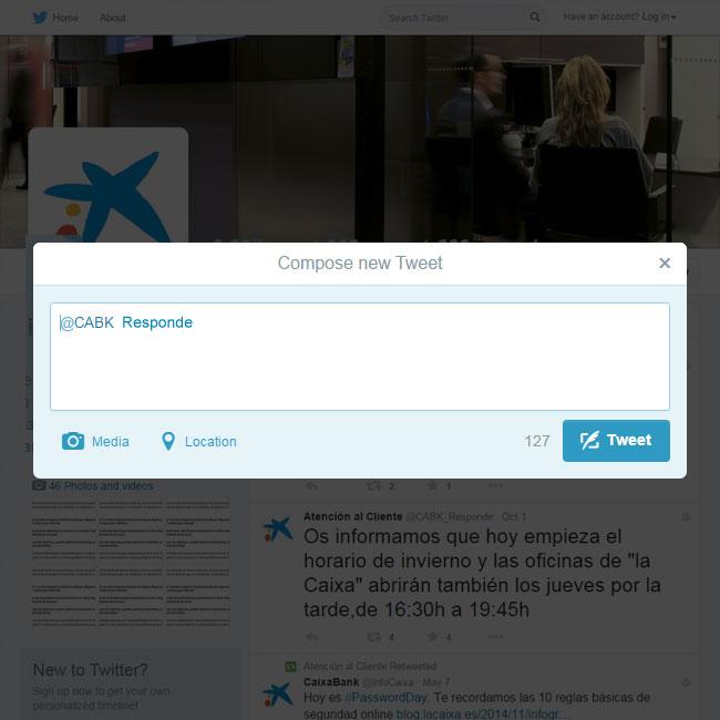Social corner redes sociales caixabank for Localizador oficinas