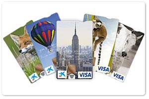 Tarjetas verticales tarjetas la caixa for La caixa oficina internet particulares