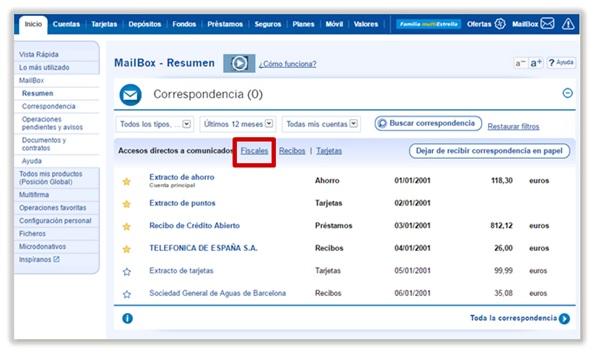 Cómo Consultar La Información Fiscal Caixabank