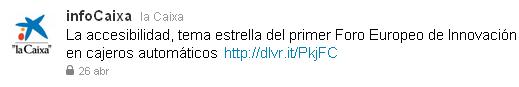infoCaixa